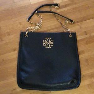 Tory Burch Britten swingpack black leather